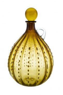 بطری نگینی گلابی کوچک زرد
