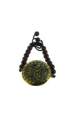 دستبند چیمه طرح گل تک بند