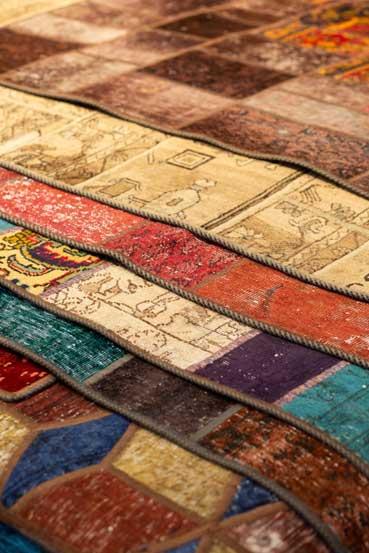 قالی های وینتج، شکل معاصر هنر فرش، اثر موسوی سیرت