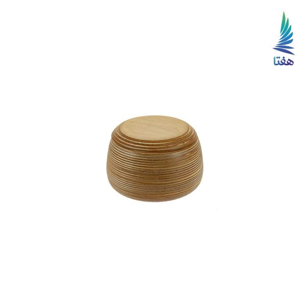 ظرف دربدار چوبی