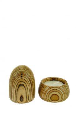شمعدان چوبی وارمرشمعدان چوبی وارمر