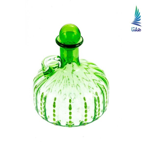 بطری نگینی عدسی کوچک سبز