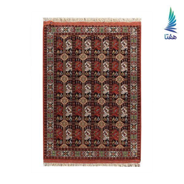 قالیچه ترکیبی پشم و ابریشم بشیر
