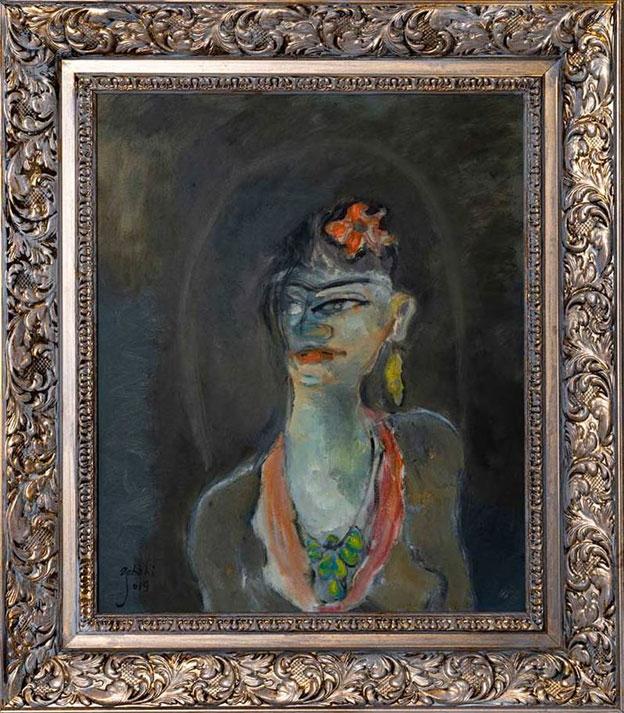 نقاشی اثر استاد حسینعلی ذابحی، گالری هفتا