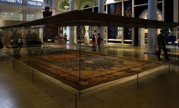 فرش شیخ صفی، موزه ویکتوریا و آلبرت لندن