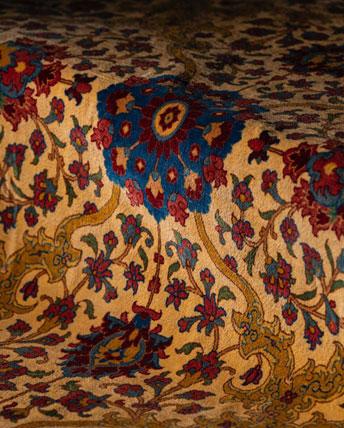 فرش ابریشم قم، گالری هفتا