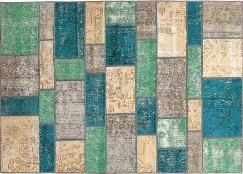فرش چهلتکه، اثر استاد موسوی سیرت، گالری هفتا