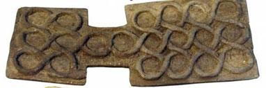 تخته بازی، شهر سوخته، هزاره چهارم قبل از میلاد، محل نگهداری: موزه زاهدان