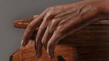دست، اثر مسعود کشمیری، اکرلیک روی بوم، گالری هفتا